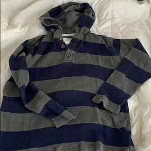 Mini Boden pull over hoodie